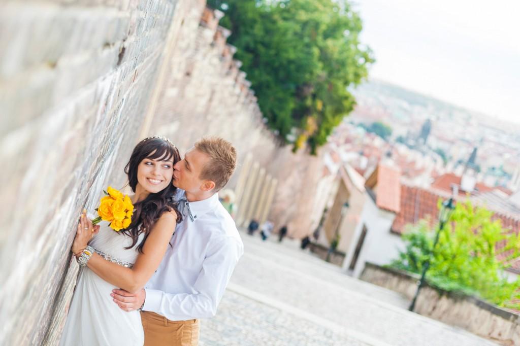 Свадебные фотосессии в Праге