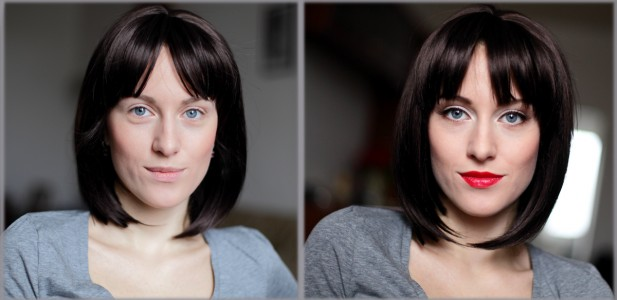 Фотограф в Праге работает совместно со специалистами по мэйк-апу и прическам