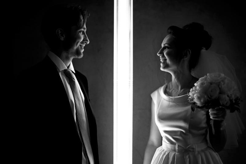 Фотосессия свадьбы в Праге, Староместская ратуша