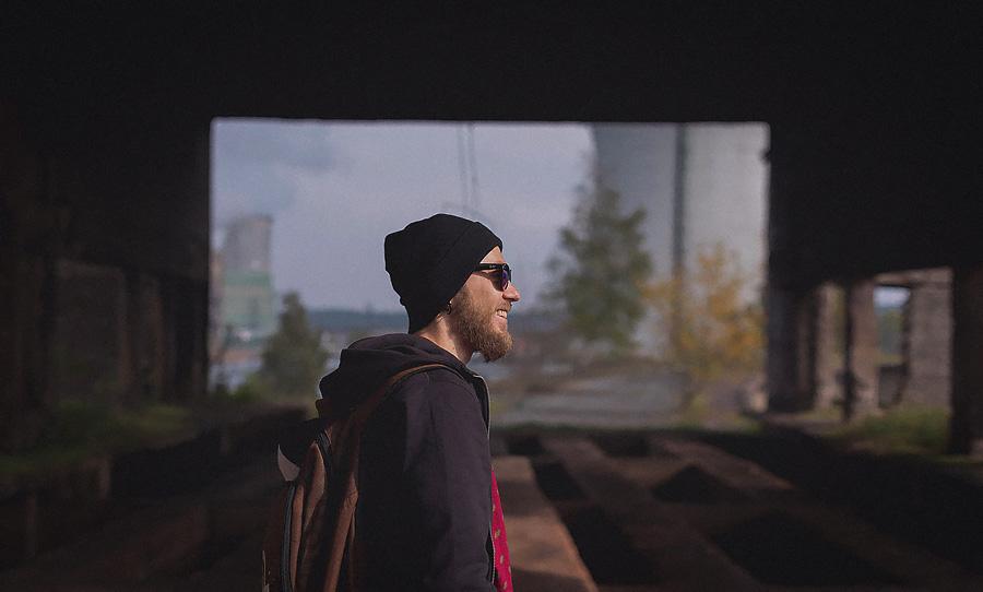 «Димон — Добрая борода» Индивидуальная фотосессия в индастриал стиле
