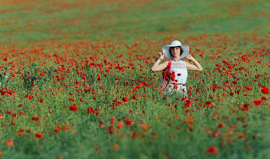 «Маковое настроение» Индивидуальная фотосессия в маковых полях пригорода Праги