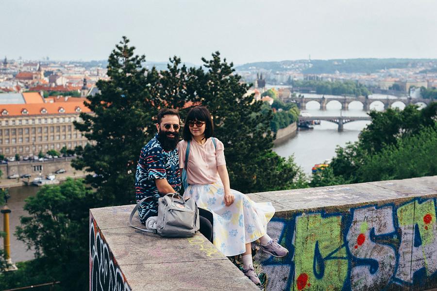 «Стильные Deniz & Türker из Турции» Фотопрогулка по Праге