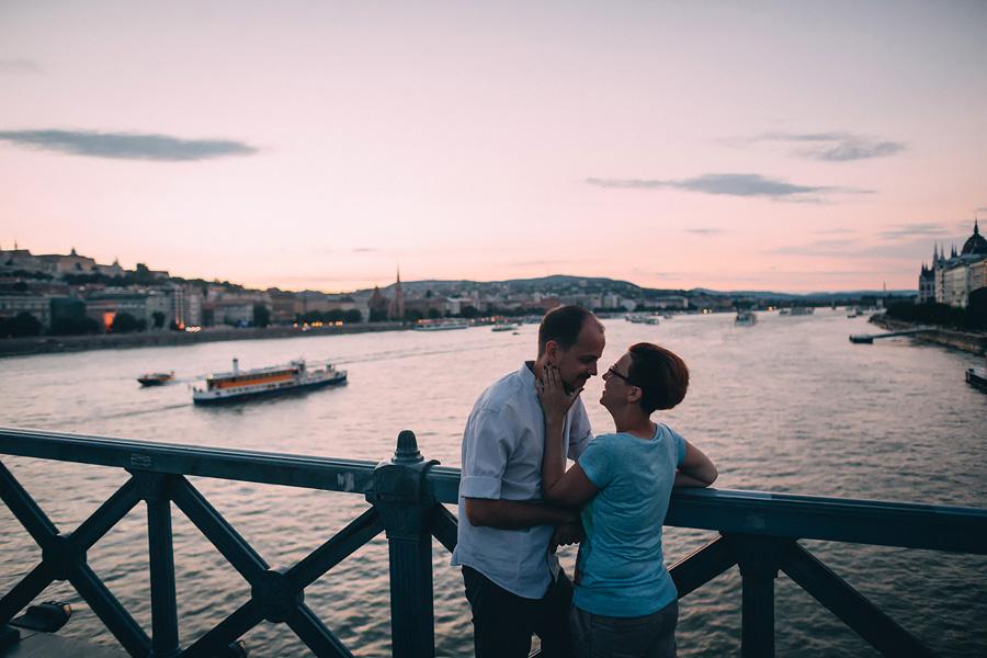 «Лав-стори по-венгерски» Выездная фотосессия в Будапеште