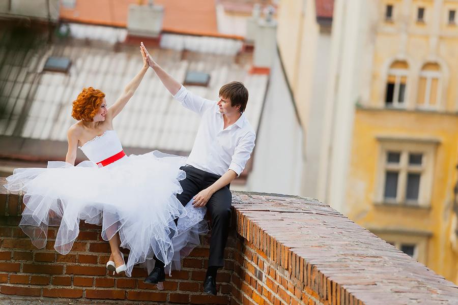 «Солнечная Прага — яркие эмоции» (Свадебная прогулка по Праге)