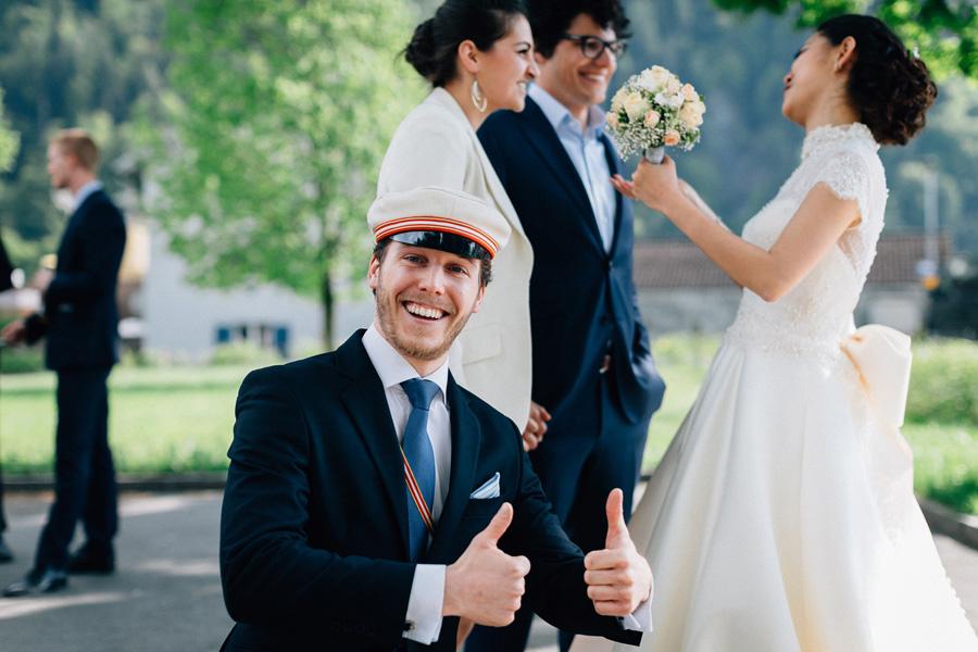 «Свадебный день великолепных Рафаэля и Элизабет» Свадьба в Швейцарии