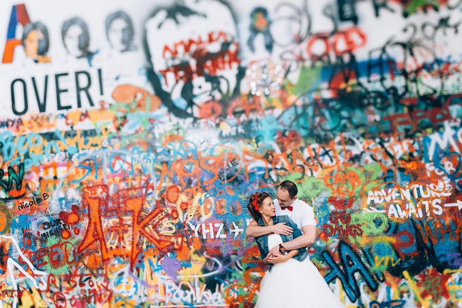 «Как же тебе повезло, моей невесте…» Свадьба в Праге