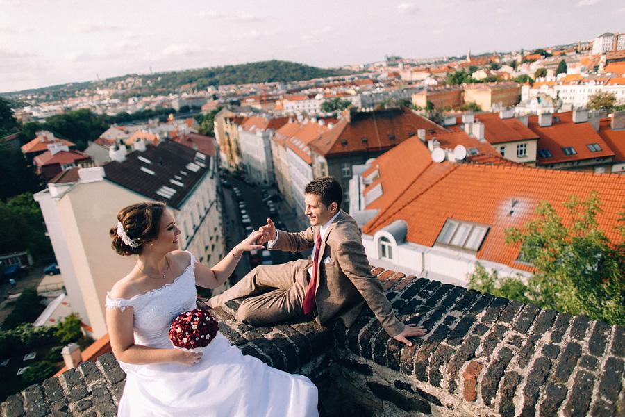 «Когда все дороги ведут в Магистрат» Весёлая свадьба в Праге