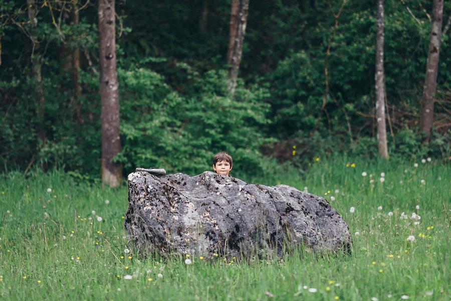 В гармонии с природой. Семейная съемка в Швейцарии