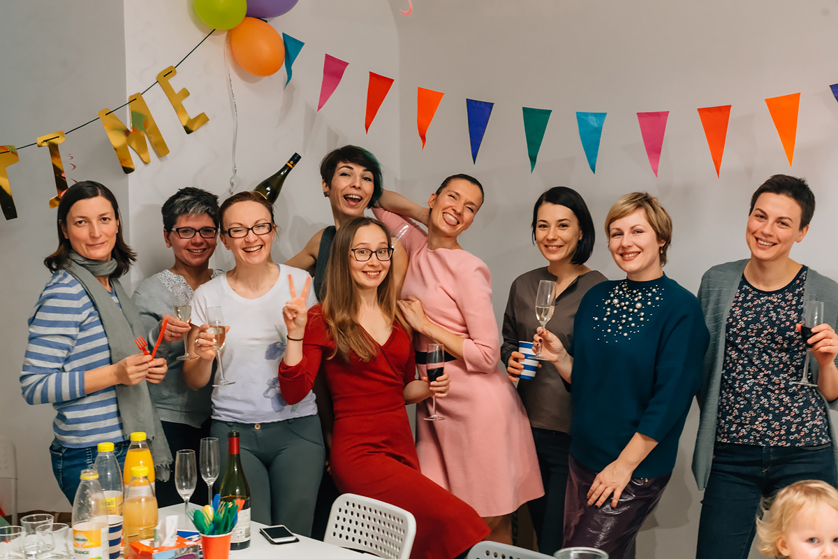 детский день рождения в Праге