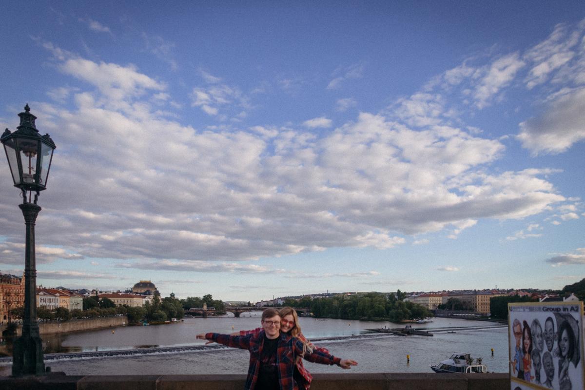 Прогулочная фотосессия в Праге