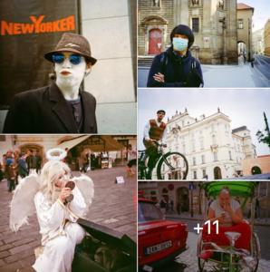 фотограф в Праге, Европе
